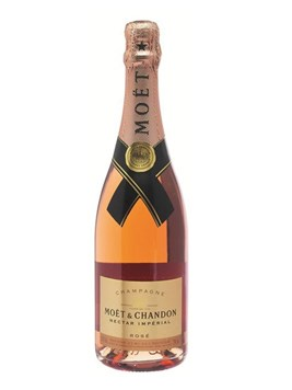 Wine: Moet & Chandon Nectar Rose