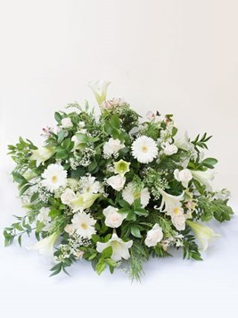 Funeral : Flat Back Church Arrangement Option 1 - AV