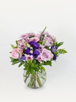 Arrangements: Purple Blooms